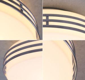 Indicatore luminoso di soffitto moderno del tondo LED con tonalità di vetro bianca 8W