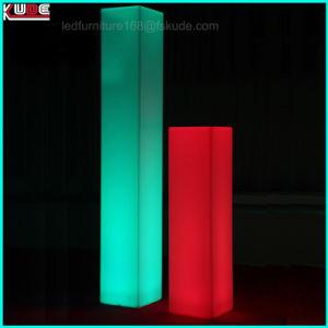 Licht van de Decoratie van de Stemming van de Kleur Lanscape van de Decoratie van de staaf het Openlucht Veranderende