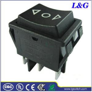 20A 6 Pins (위에) - off- (위에) Power Reset Rocker Switch