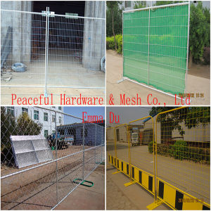 Galvanisiert oder PVC Coated Temporary Fencing (ETP-01)