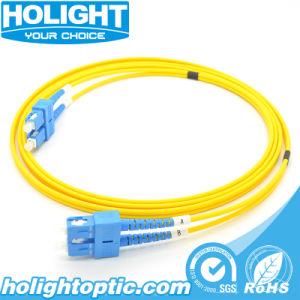 Sc a SC de fibra óptica monomodo latiguillo para infraestructura