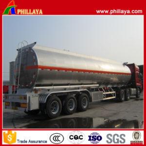 半3つのブランドの車軸アルミニウムタンク燃料の輸送のトレーラー