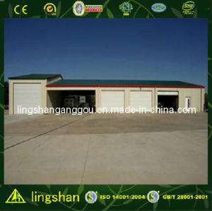 Pre-Fabricated светлый гараж автомобиля стальной рамки (LS-SS-011)