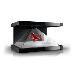 Visualizzazione olografica calda di vendita 3D che fa pubblicità al giocatore