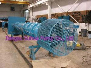 Bomba de turbina vertical, Eixo Longo ou reservatórios Wet-Pit Industrial (VTC)