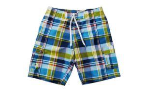 Plaid Colourful Beach Shorts per Men
