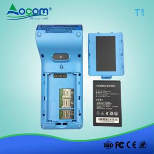 Pagamento ad alto livello Posterminal tenuto in mano Android con il PCI, EMV L1, EMV L1/L2, Paypass