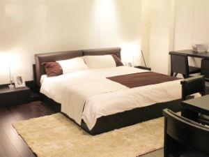 Chambre à coucher Mobilier moderne et un lit double Queen lit King ...