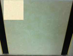 Flores decorativas Series-Home Shell de porcelana de color beige para suelos de mosaico (FB8003)