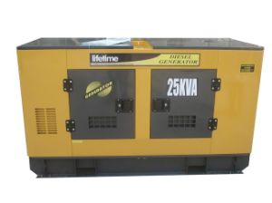 Puissant 20kw Groupe électrogène Diesel (silencieux type)