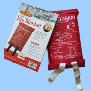 Portable Coperta della fibra di vetro del fuoco con En1869 / Reach / ASTMF 1989 / BSCI