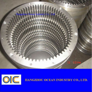 L'équipement minier l'engrenage de moulage en acier