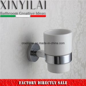 Baignoire en céramique matériel durable définie avec finition chromée