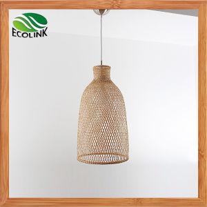 Bambus-spinnende Lampen-Bambusdeckenleuchte