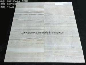 Tegel van het Porselein van het Bouwmateriaal van de Tegel van de Vloer van de Steen van de tegel de Volledige Opgepoetste Verglaasde Marmeren