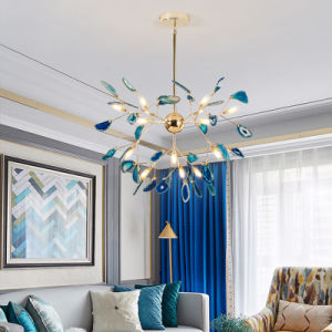 Arañas de luces LED modernos decorar el Loft con luces de comedor dormitorio nórdicos