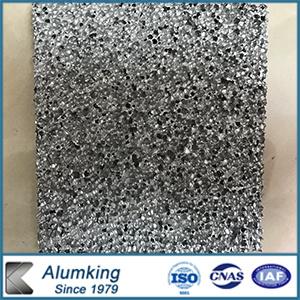 Panneaux en matériau mousse en aluminium pour la construction de bâtiments