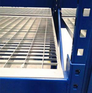 Cubierta de rejilla de barras de acero galvanizado para rack de almacenamiento