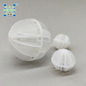 プラスチックPolyhedral空の球プラスチックタワーのパッキング