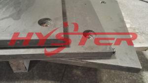 La fabrication de professionnels de la plaque d'usure bimétallique 63HRC pour chute et de la trémie