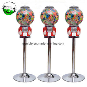 硬貨の球の自動販売機のGumballキャンデー機械