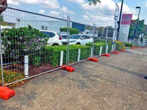 L'Australie soudés en acier galvanisé Wire Mesh La construction de clôtures temporaires pour le site