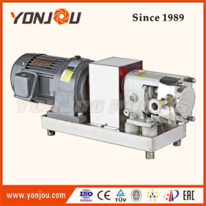 Pompe à lobes// de la pompe de qualité alimentaire de la pompe de liquide de sanitaires/pompe du rotor