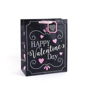 В День Святого Валентина розового цвета одежду романтический косметика подарочные бумажные пакеты