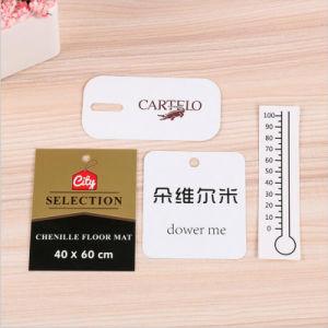 새로운 형식 디자인 광저우에 있는 관통되는 t-셔츠 꼬리표