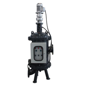 Automatischer Wellengang-Wasser-Filter mit Kassette Ss304