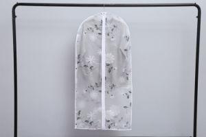 PEVA 투명한 인쇄 예복용 와이셔츠 한 벌 의복 덮개 부대