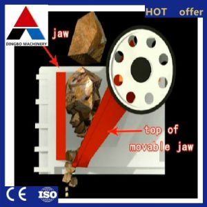 frantoio a mascella estraente della macchina del frantoio per pietre del frantoio della costruzione 20-60tph