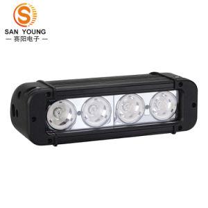 40W 10W CREE LED de fileira única Barra de Luz de Trabalho Offroad super brilhante de condução