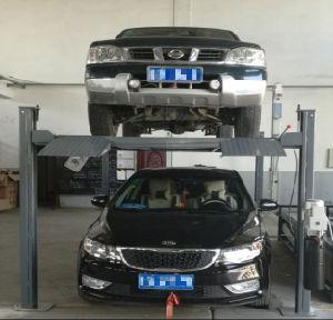 Четыре должности главная автомобильная стоянка подъемного механизма подъема