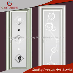 Закаленное двойные стекла на алюминиевых рамах дверная рама перемещена по-французски ванная комната двери
