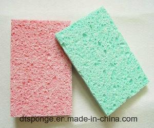 Absorbant élevé éponge en cellulose pour le nettoyage de cuisine