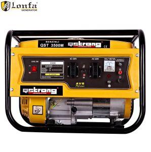 2kVA 220V 50/60 Hz generador de gasolina eléctrica de mano con el bastidor