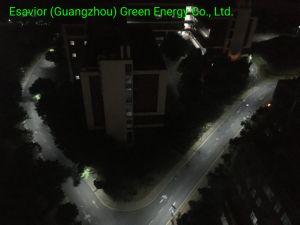 Esavior 50W tous dans une rue lumière solaire intégré d'éclairage LED de puissance lampe de plein air