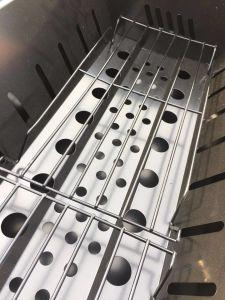 Carvão japonês pode ajustar a altura da piscina Churrasqueira churrasqueira (grande)