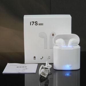 I7s de Tws Tapones de auricular inalámbrico Bluetooth doble Earpods estéreo auriculares intrauditivos