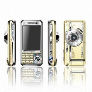 Telefone de TV com Duplo Cartão SIM com 5,0 Mega pixel Zoom