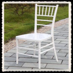 결혼식 플렉시 유리 Chiavari 백색 의자