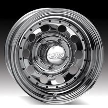16X10 (6-139.7) Chrome remache con ruedas de acero modular