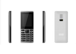 Venda quente P4 com o botão Sos Elder fácil usar o telefone celular