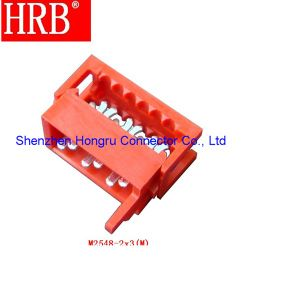 14位置のHrb PCBの土台IDCのコネクターワイヤーヘッダ