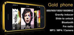Telefono delle cellule dell'oro (LC888)