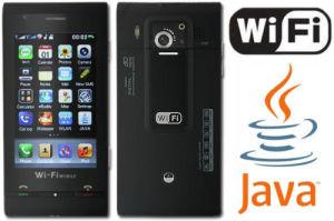 3.2  Touchscreen TV Cellphone C5000 van Java WiFi