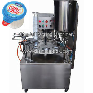 قهوة رفيق فنجان تعبئة و [سلينغ] آلة