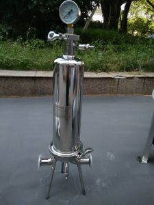 Filtro de aço inoxidável Filtro de Alto Fluxo do filtro de cartucho único