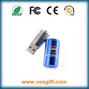 Cocacola USB Stick горячая продажа металлические конструкции привода пера расширительного бачка